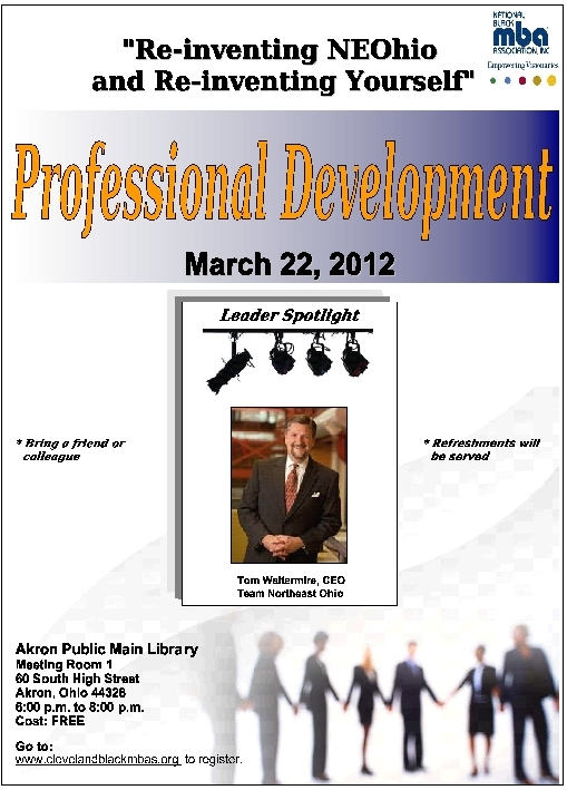 N.E. Ohio Professional Development Event